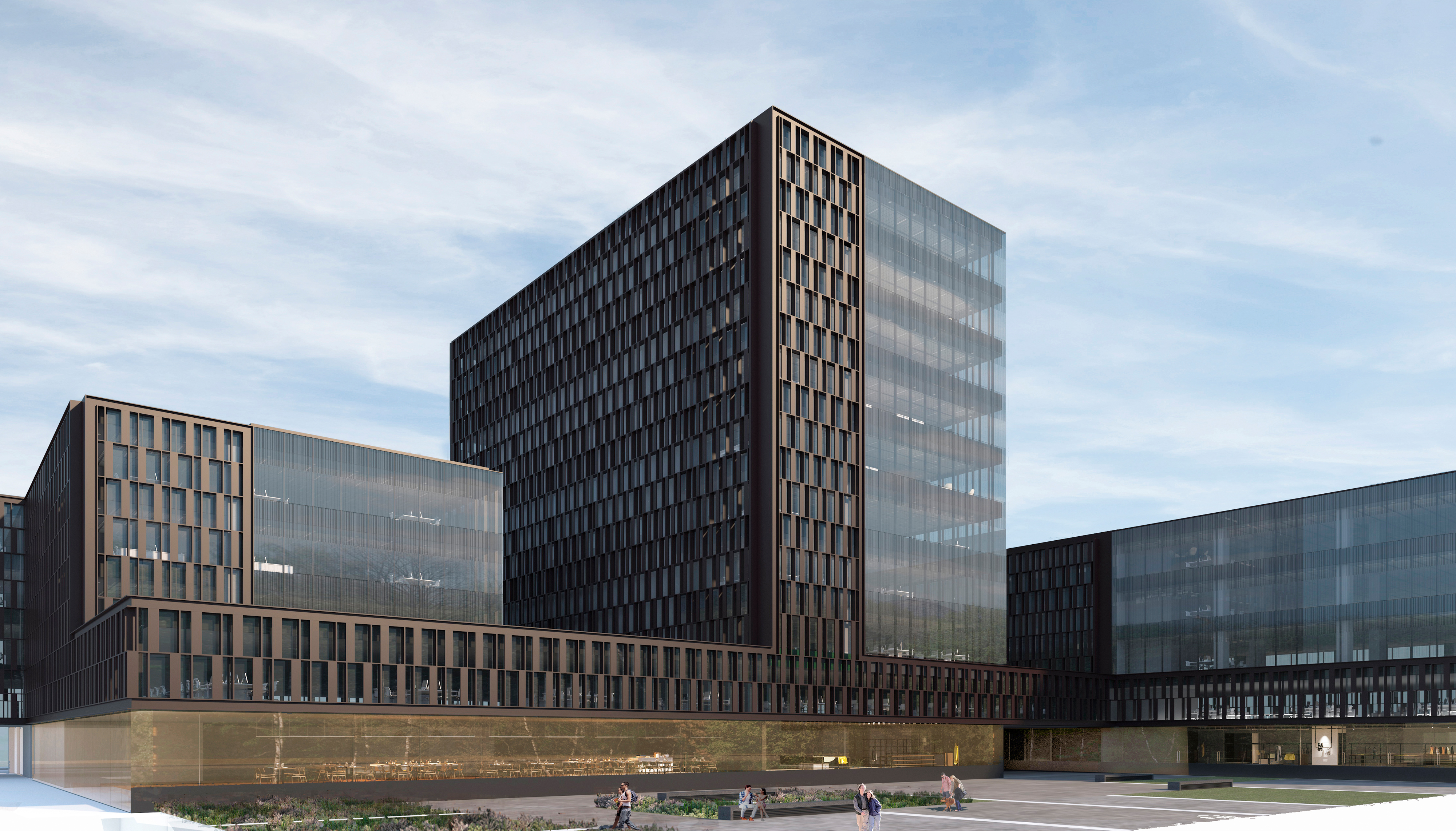 Edificio oficinas barcelona for Oficines racc barcelona