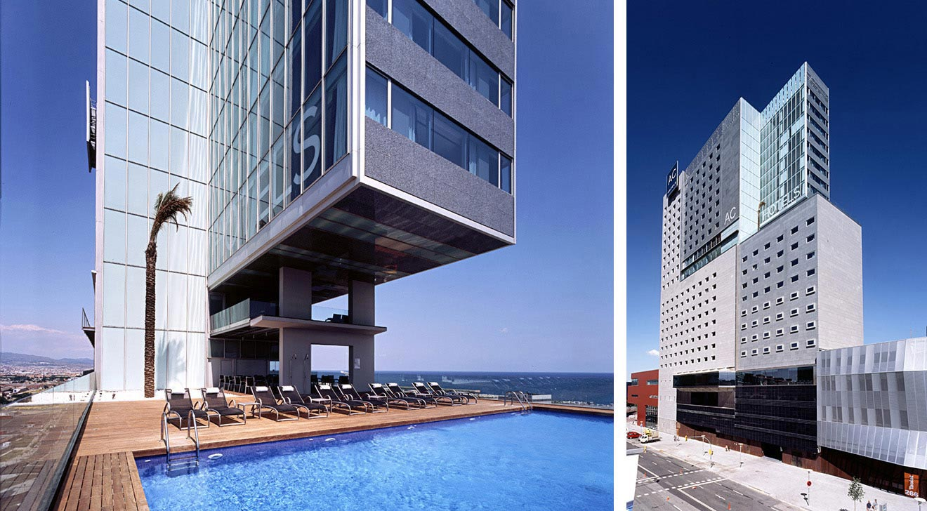 Hotel ac barcelona forum for Designhotel barcelona